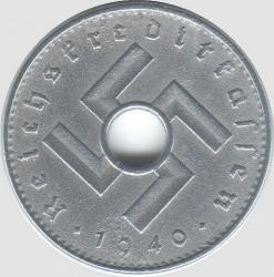 Pièce > 10reichspfennig, 1940-1941 - Allemagne - Troisième Reich  - obverse