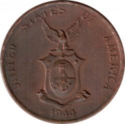 Monēta > 1sentavo, 1937-1944 - Filipīnas  - obverse