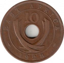 Moneta > 10centesimi, 1921-1936 - Africa Orientale Britannica  - reverse