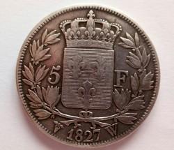 Pièce > 5francs, 1827-1830 - France  - reverse
