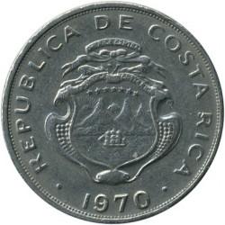 Монета > 50сентимів, 1968-1978 - Коста-Ріка  - obverse