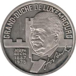 Монета > 5ECU, 1993 - Люксембург  (Жозеф Беш) - reverse