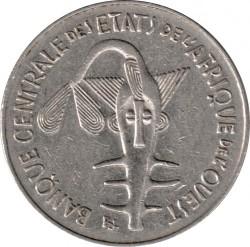 Moneda > 100francos, 1990 - África Occidental (BCEAO)  - obverse