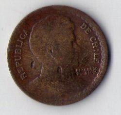 Münze > 1Peso, 1948 - Chile  - reverse
