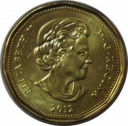 Moneda > 1dólar, 2012 - Canadá  (XXX Juegos olímpicos de verano, Londres 2012) - obverse