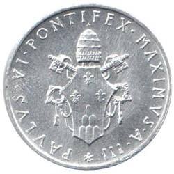 Moneta > 1lira, 1963-1965 - Vaticano  - obverse
