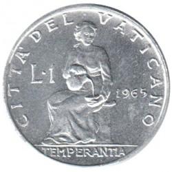 Moneta > 1lira, 1963-1965 - Vaticano  - reverse