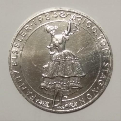 500 Schilling 1984 Fanny Elßler österreich Münzen Wert Ucoinnet