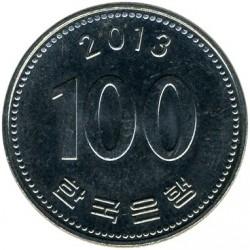 Moneta > 100vonų, 2013 - Pietų Korėja  - reverse