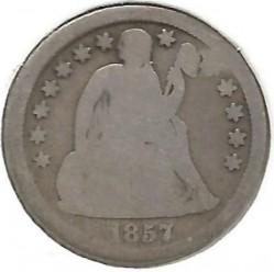 سکه > 1دایم, 1856-1860 - ایالات متحده آمریکا  (Seated Liberty Dime) - reverse