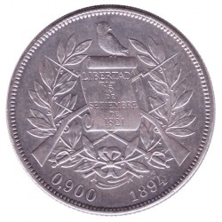 Munt > 1peso, 1894-1897 - Guatemala  - obverse