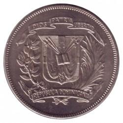 Minca > ½peso, 1973-1975 - Dominikánska republika  - obverse