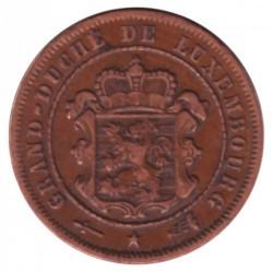 מטבע > 2½סנטים, 1854-1908 - לוקסמבורג  - obverse