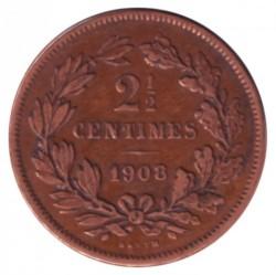 מטבע > 2½סנטים, 1854-1908 - לוקסמבורג  - reverse