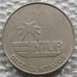 Монета > 10сентаво, 1981 - Куба  (Номінал без числа 10) - reverse