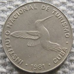 Monēta > 10sentavo, 1981 - Kuba  (Denomination w/o number 10) - reverse