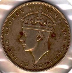Монета > 1пени, 1938-1947 - Ямайка  - obverse