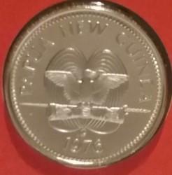 Монета > 20тойя, 1976 - Папуа - Новая Гвинея  - obverse