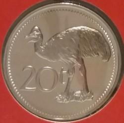 العملة > 20تويا, 1976 - بابوا غينيا الجديدة  - reverse
