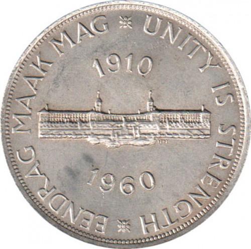 5 Schilling 1960 South African Union Südafrika Münzen Wert