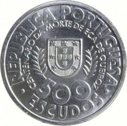 Moneta > 500escudo, 2000 - Portugalia  (100 rocznica śmierci Eca de Queiroz) - obverse