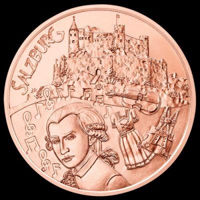 10 Euro 2014 Salzburg österreich Münzen Wert Ucoinnet
