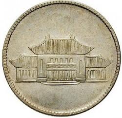 Moeda > 20cêntimos, 1949 - China - República  - reverse