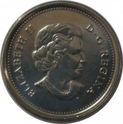 Монета > 25цента, 2011 - Канада  (Легендарна фауна - Сокол скитник) - obverse