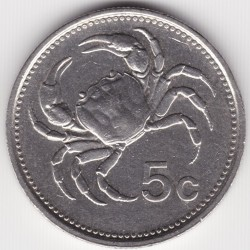 מטבע > 5סנט, 1986 - מלטה  - obverse