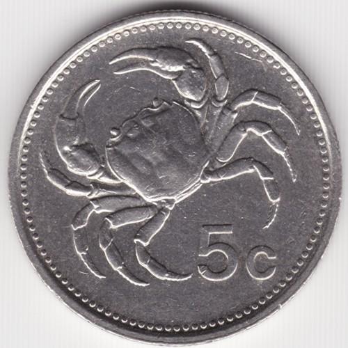 5 Cent 1986 Malta Münzen Wert Ucoinnet