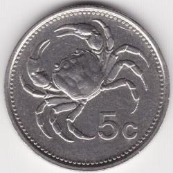מטבע > 5סנט, 1986 - מלטה  - reverse