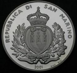 Moneta > 10000lire, 2001 - San Marino  (Ferrari) - obverse