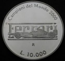 Moneta > 10000lire, 2001 - San Marino  (Ferrari) - reverse