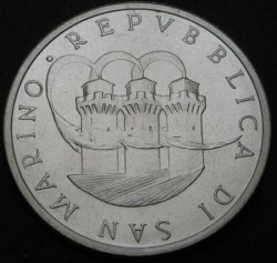 Moneta > 1000lire, 1989 - San Marino  (Gran Premio di San Marino) - reverse