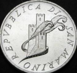 Moneta > 500lire, 1987 - San Marino  (XIV Universiade estiva, Zagabria 1987) - obverse