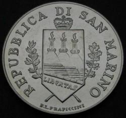 Moneda > 5euros, 2004 - San Marino  (Bartolomeo Borghesi) - obverse