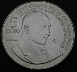 Moneda > 5euros, 2004 - San Marino  (Bartolomeo Borghesi) - reverse