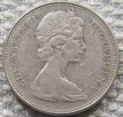 Moneta > 5centów, 1965-1978 - Kanada  - obverse
