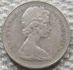 Mynt > 5cents, 1965-1978 - Kanada  - reverse