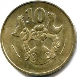 Монета > 10центов, 1983 - Кипр  - obverse