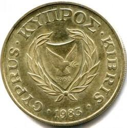 Монета > 10центов, 1983 - Кипр  - reverse