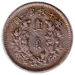 Moneda > 1jiao, 1914-1916 - Xina - República  - reverse