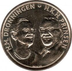Moneta > 20corone, 2017 - Danimarca  (Nozze d'oro) - obverse