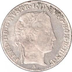 Monedă > 3сreițari, 1837-1848 - Austria  - obverse