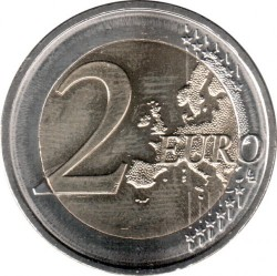 Pièce > 2 euros, 2017 - Lettonie  (Historical Regions of Latvia - Courland) - obverse