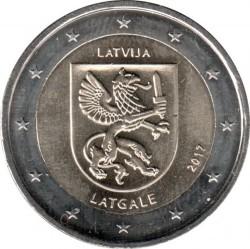 Монета > 2євро, 2017 - Латвія  (Історичні області Латвії - Латгалія) - obverse