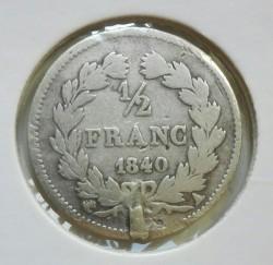 العملة > ½فرنك, 1831-1845 - فرنسا  - reverse