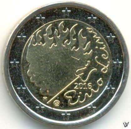 Commemorative Coin 2016 Finland 90 Anniversary of the Death of Eino Leino