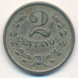 Moneda > 2centavos, 1921 - Colòmbia  - obverse
