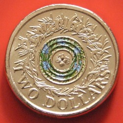 Moneta > 2dollari, 2017 - Australia  (Remembrance Day) - obverse